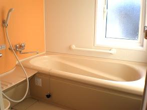 Photo: 浴室は2階にあります。 浴室在层 bathroom on 2F