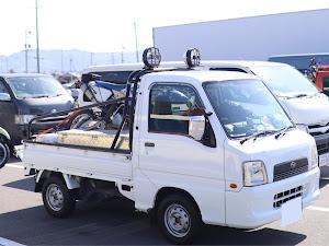 サンバートラック スーパーチャージャー  マニュアル・四輪駆動車のカスタム事例画像 よこちゃんさんの2021年05月05日20:01の投稿