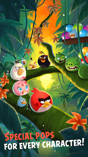 Angry Birds POP Bubble Shooter [Mod Money]