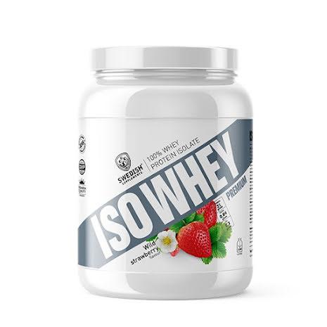 Swedish Supplements ISO Whey Premium 920g - Strawberry