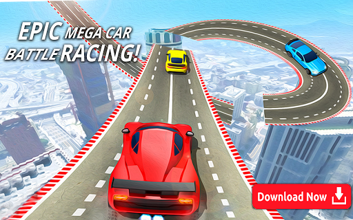 Mega Stunt Car Race Game - Free Games 2020 3.4 screenshots 14
