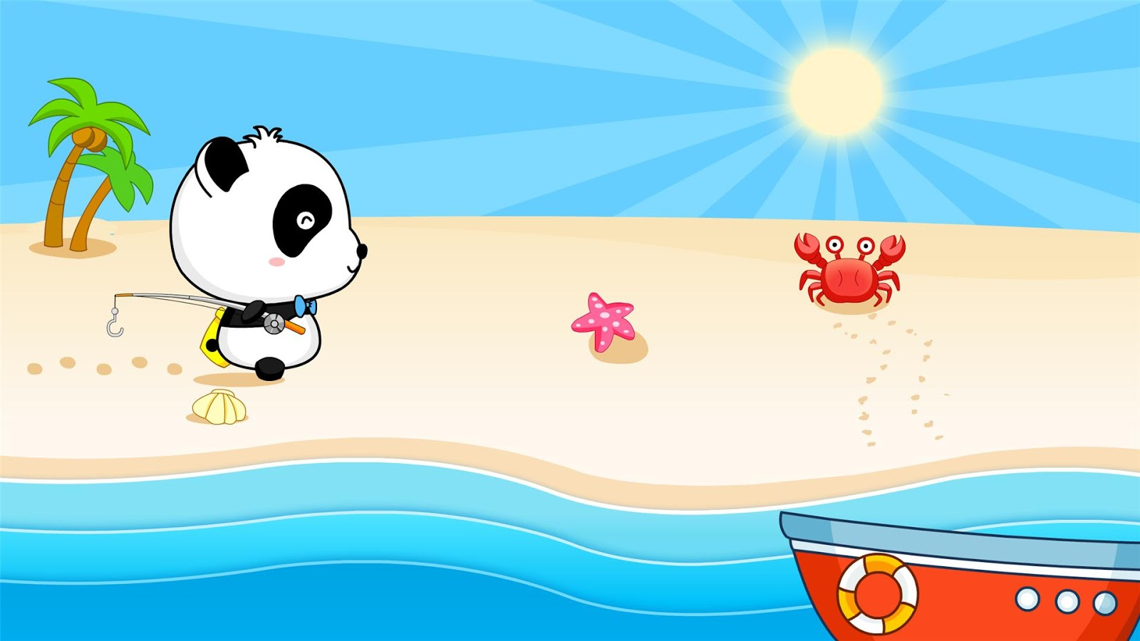 Happy fishing game for kids android apps on google play for Best fishing game android