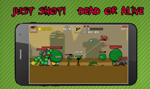 Stickman And Gun - screenshot