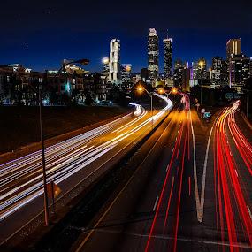ATL by Adam Snyder - City,  Street & Park  Skylines (  )