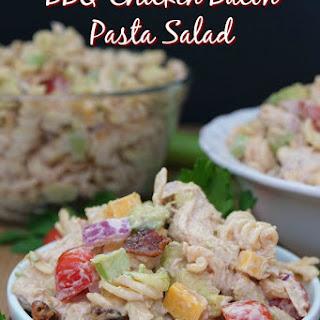 Barbecue Chicken Bacon Pasta Salad Recipe