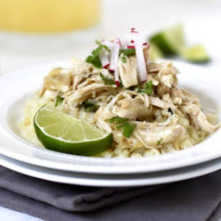 Slow Cooker Chicken Chile Verde.