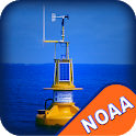 NOAA Buoys Stations & Ships with GPS Tides & Wind icon