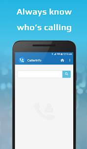 CallerInfo: Caller ID, Number lookup, Number book App Download For Android 1