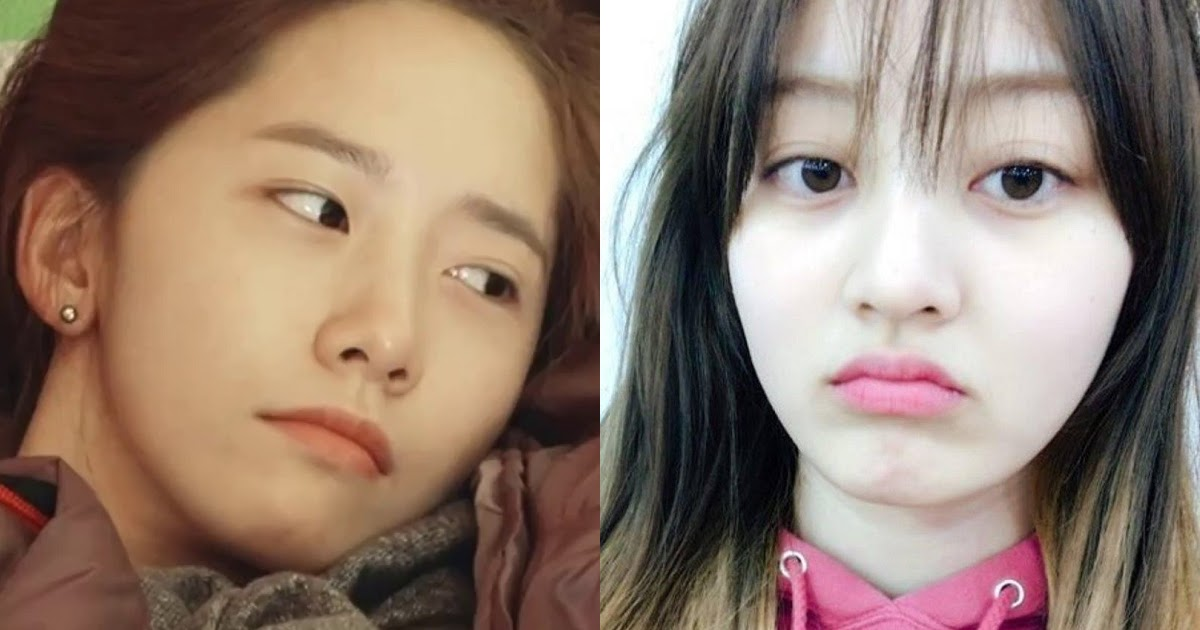 10 Female Idols Who Are Beautiful Bare Faced Koreaboo