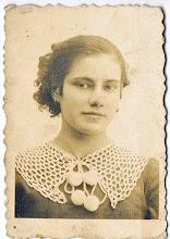 Photo: Janina Oleśków - awers zdjęcia z dedykacją ofiarowanego Katarzynie Dąbrowskiej.