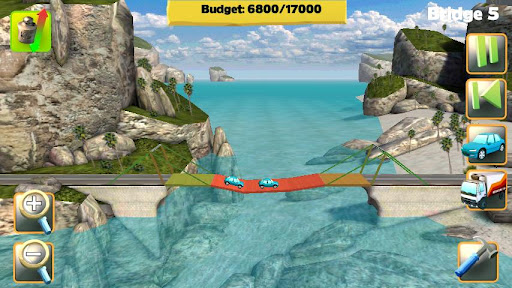 Bridge Constructor FREE screenshot 1