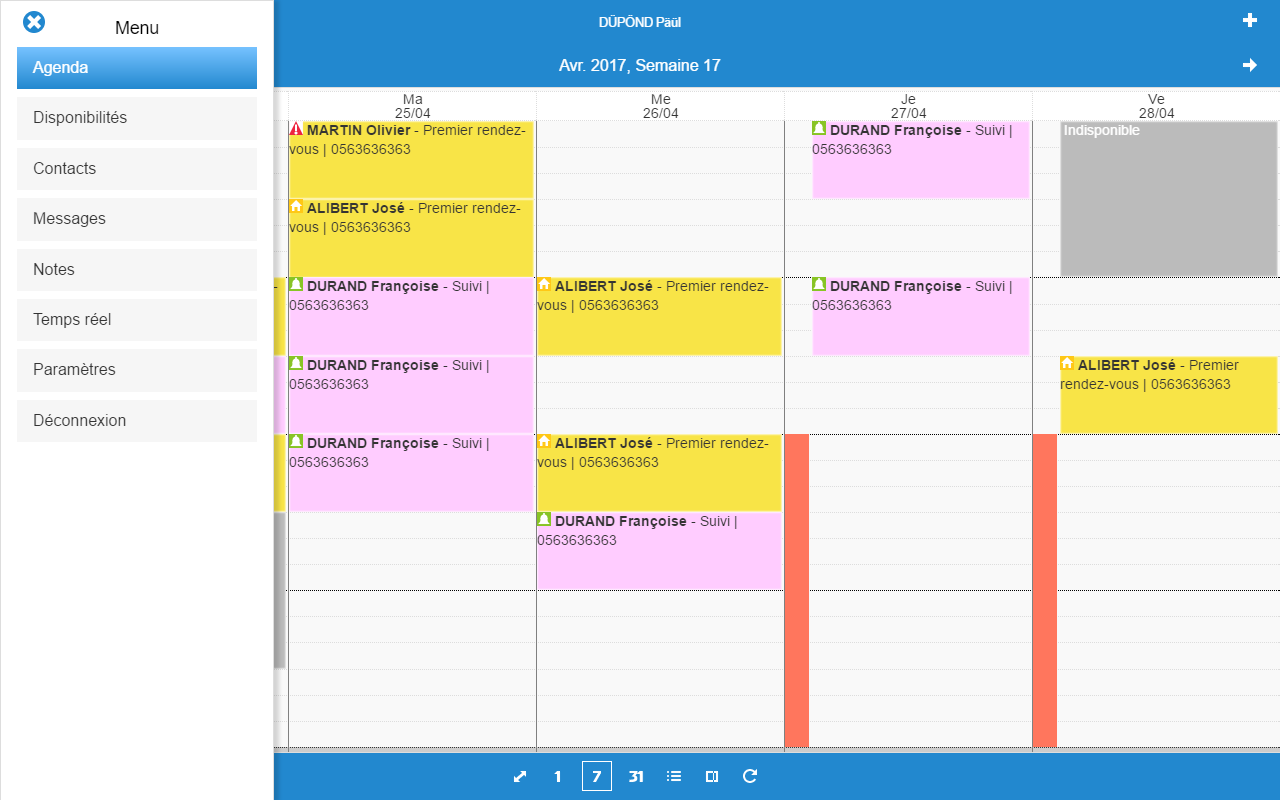 WZ-Agenda Mobile- screenshot