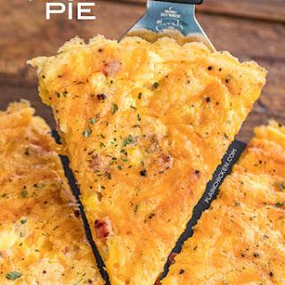 Ham & Corn Pie.