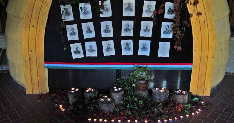 Október 6-ai megemlékezés a Faluházban 2017