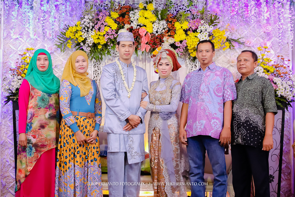 setingan foto wedding di pelaminan lukihermanto