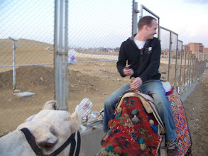 Photo: Yeah, I take back what I said at first about this guy's camel.  This one was nice.  It was that OTHER camel that tried to bite my foot.