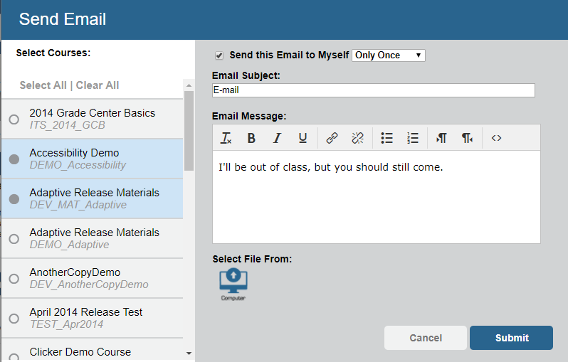 Qwickly Email Form