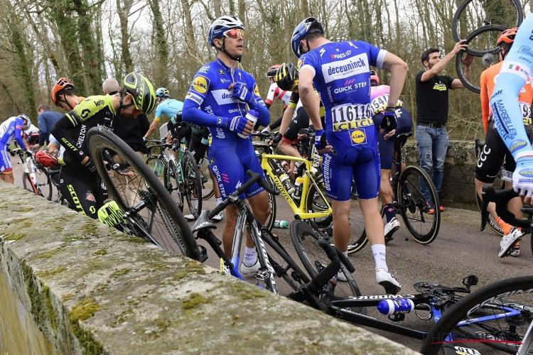 """Zelden gezien volgens Philippe Gilbert: """"Mijn fiets was in drie stukken gebroken"""""""