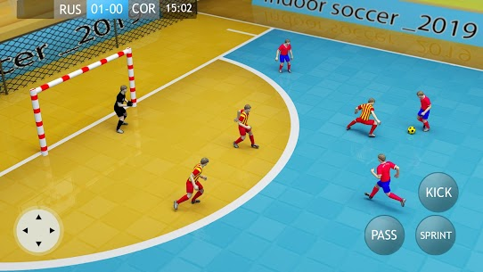 Indoor Soccer 2020 MOD (Unlimited Gold Coins) 1