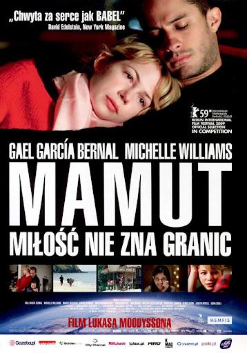 Przód ulotki filmu 'Mamut'