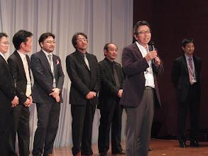 Photo: 菊地会長、良い味出してました