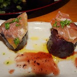 delicious foods at the ParaPara dinner party in Tokyo, Tokyo, Japan