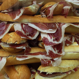 SANDES WITH HAM by Aida Neves - Food & Drink Eating