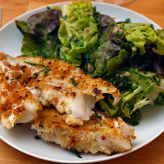 Cod with Tarragon-Anchovy Breadcrumbs.