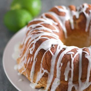 Gluten Free Lime Pound Cake.