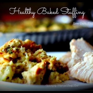 Healthy Baked Stuffing