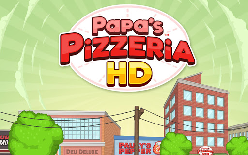 Papa's Pizzeria HD - screenshot
