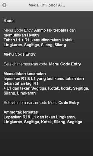 Kode Sepak Bola : sepak, Cheat, Gamers.zone, Details