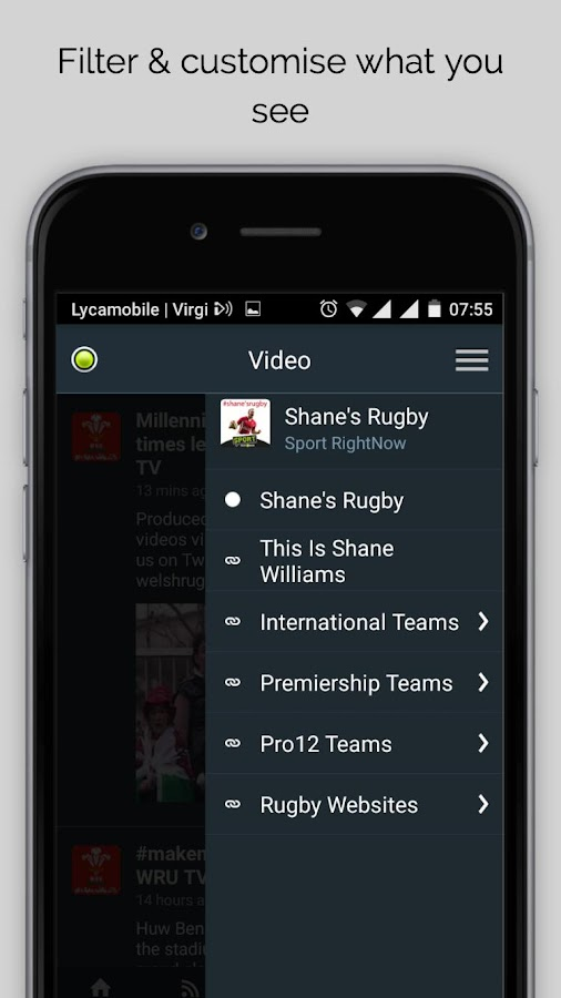 Shane's Rugby Sport RightNow- screenshot