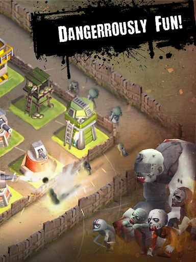 2048 Dead Puzzle Tower Defense - screenshot