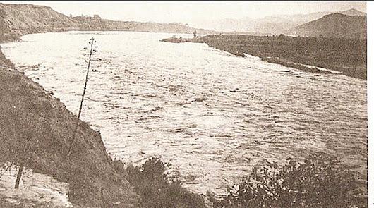 Cuando se desbordó el Río Almanzora