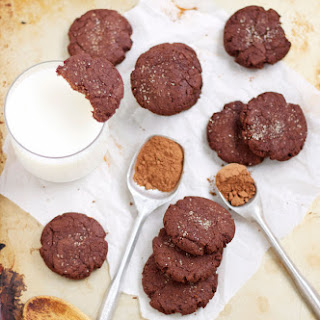 Mexican Chocolate Cookies.