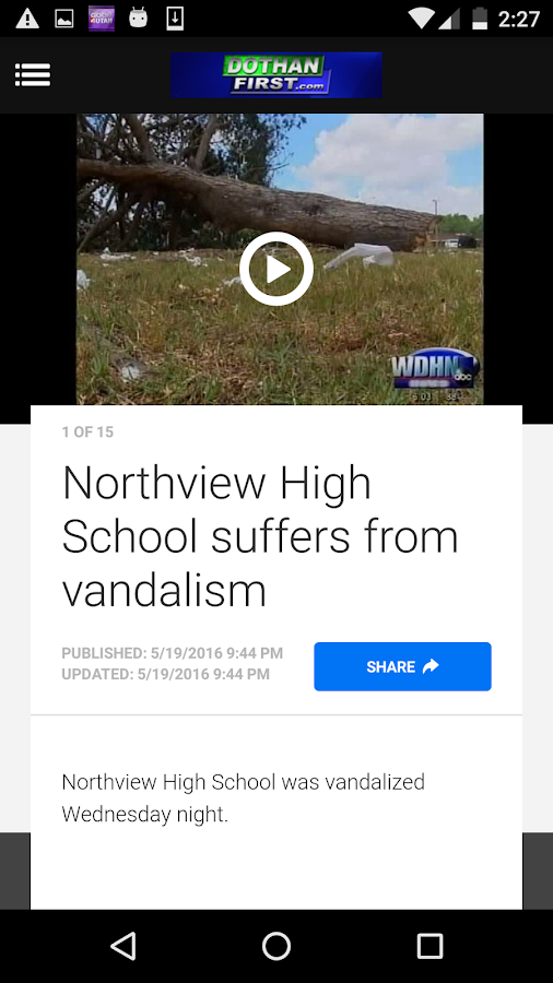 WDHN News- screenshot