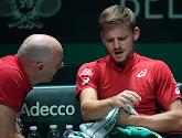 David Goffin is er niet bij tegen Hongarije