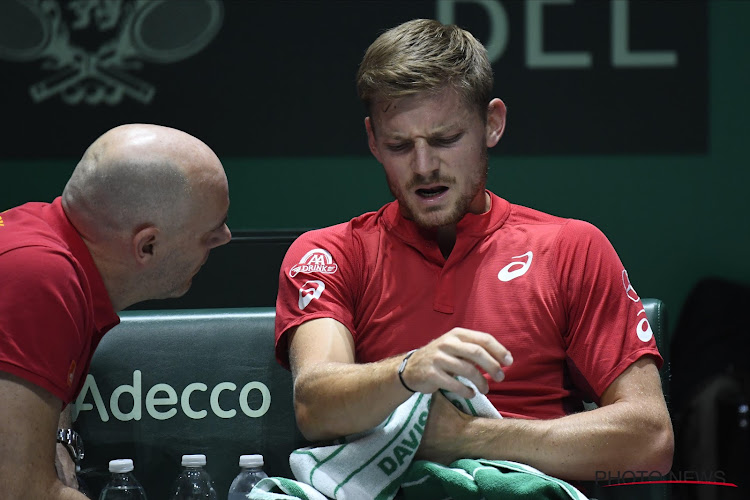 België moet het in de Davis Cup zonder Goffin doen tegen Hongarije