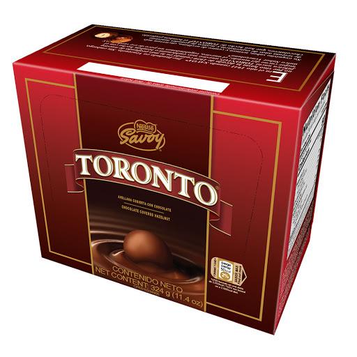 Chocolate Toronto Caja 36Und