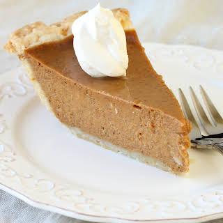 Easy Foolproof Pumpkin Pie.