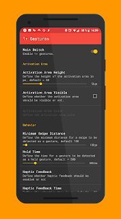 1+ Gestures — Gesture Control app for Android screenshot