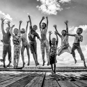 Joy by Ian Bismarkia - Babies & Children Children Candids (  )