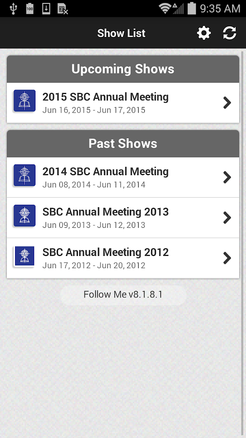 SBC Annual Meetings- screenshot