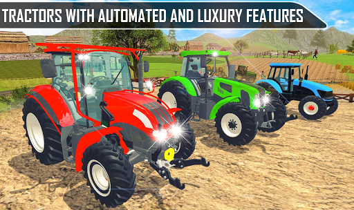 Offroad Pickup Cargo Tractor Trolley Transport android2mod screenshots 4