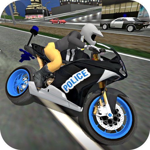 City Police MotorBike 3D Driving Simulator game (apk) free download for Android/PC/Windows