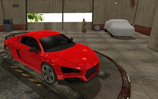 Car Simulator Deserted City