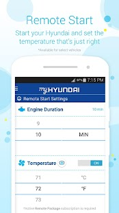 MyHyundai with Blue Link- screenshot thumbnail
