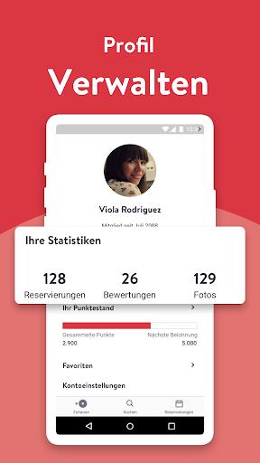 OpenTable - Online Reservieren screenshot 5
