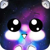 Galaxy Cuteness Kitty Twinkle Theme